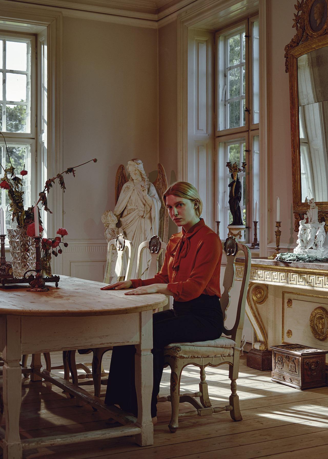 Portrit Of Amanda Bøgestrøm Isaksen